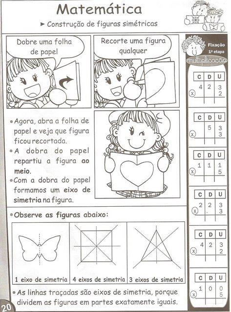 Populares AMOR PELA EDUCAÇÃO: FIGURAS SIMÉTRICAS GM46