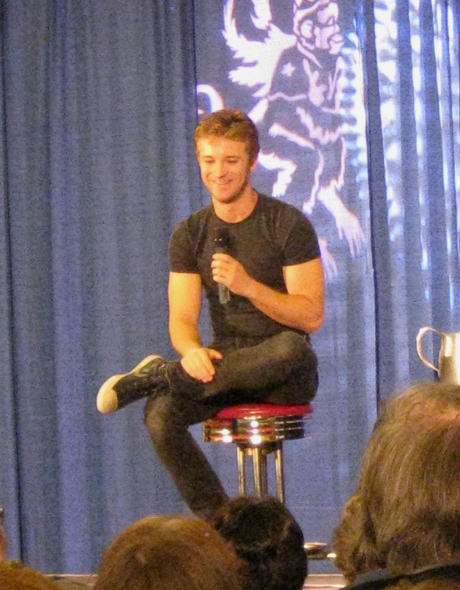 Image of Michael Welch at Shore Leave 36