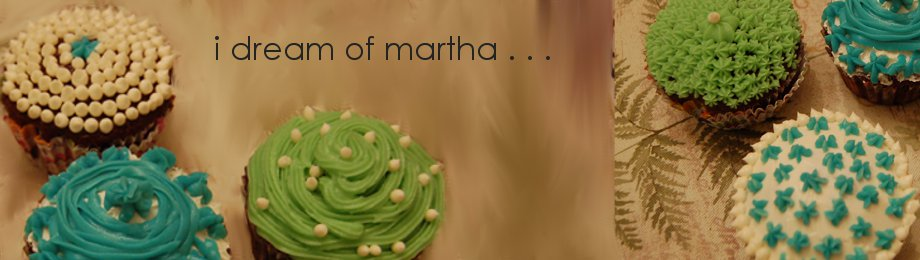 i dream of martha. . .