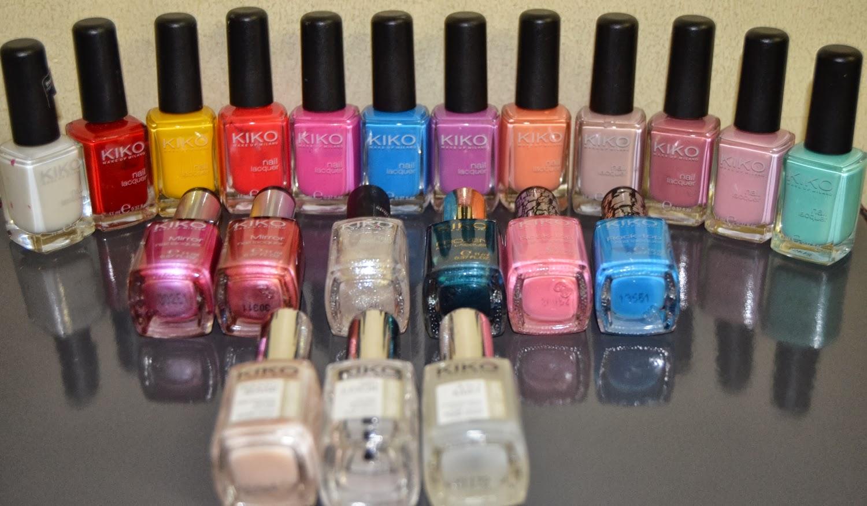Secretos de belleza mi coleccion de esmaltes de u as kiko - Pintaunas kiko efecto espejo ...