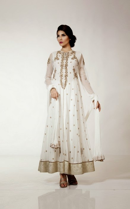 Fahad Hussayn Couture - Eid Dress New Collection -14