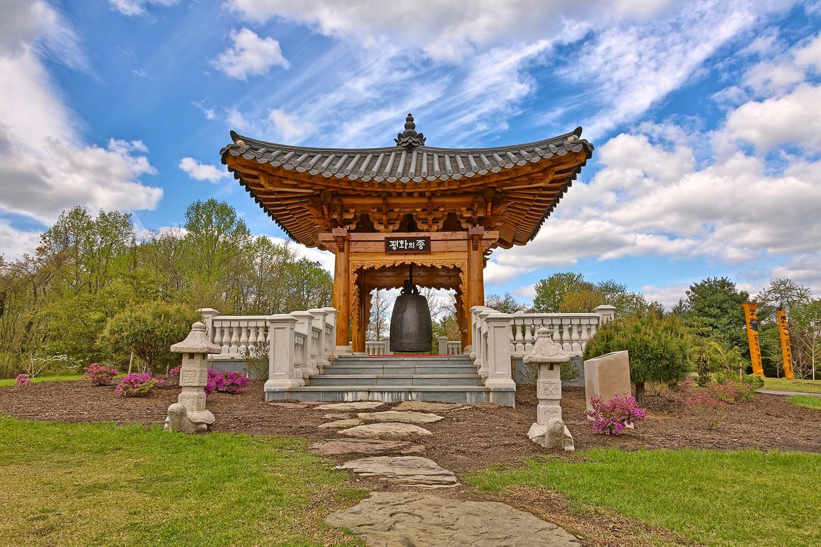 Regional Parks: Korean Bell Garden, Unique in Western Hemiphere