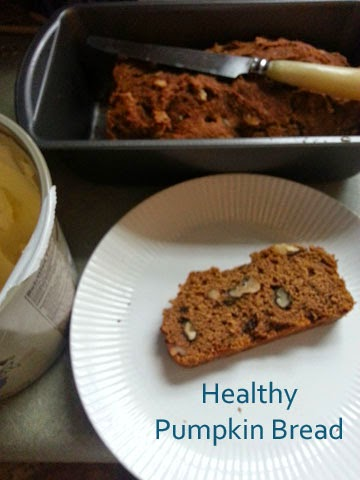 Healthy pumpkin bread that tastes great. | Swap sugar with Splenda for diabetics. | Swap flax for shortening. | Mom Hats & More