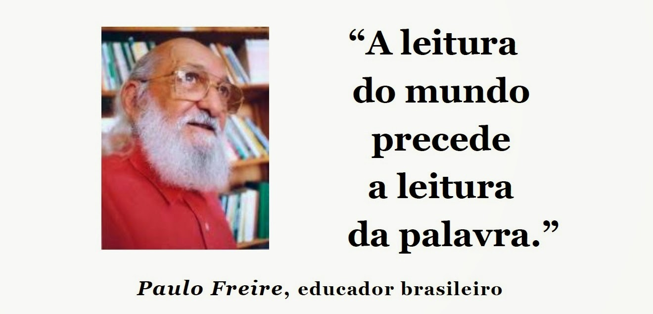 Populares Arte, Cidadania, Comunicação: Paulo Freire, educador brasileiro  JH71