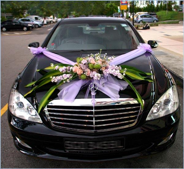 Wedding car decoration fashion in new look - Wedding decorations for car ...