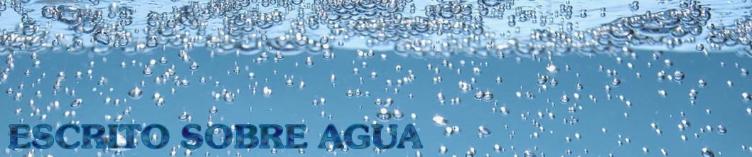 Escrito Sobre el Agua