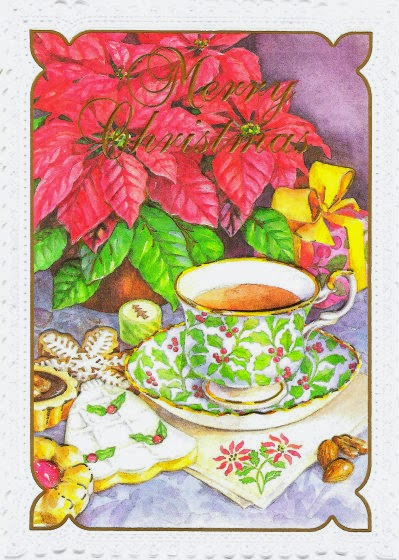 Relevant Tea Leaf Tea Themed Christmas Cards Received
