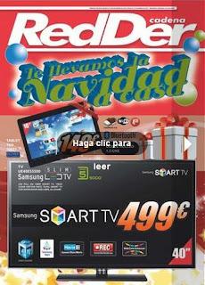 catalogo redder navidad 2012