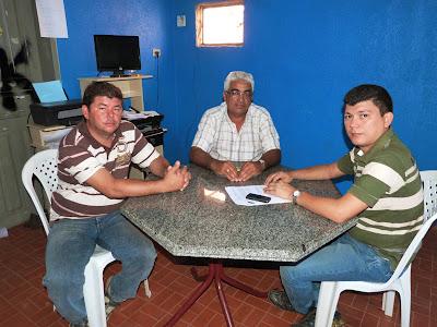 Vereador eleito de Padre Vieira visita Rubens Vieira novo Prefeito de Cocal