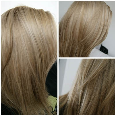 love my new hair colour i used clairol nice n easy permanent hair dye