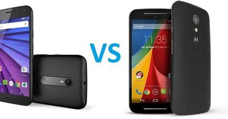 Perbedaan Motorola Moto G 2014 Vs Motorola Moto G 2015