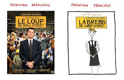 Le loup de Wall Street de Martin Scorsese, Leonardo di caprio et agathe