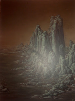 "Green Ridge, Wang Tianxuan, ""Mountain Lore"",  Art Seasons Gallery  #02-21/24, 1 Selegie Road, Singapore"