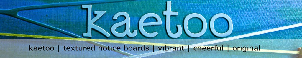 kaetoo textured notice boards