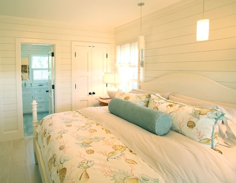 romantic beach bedroom, designed by Donna Elle .
