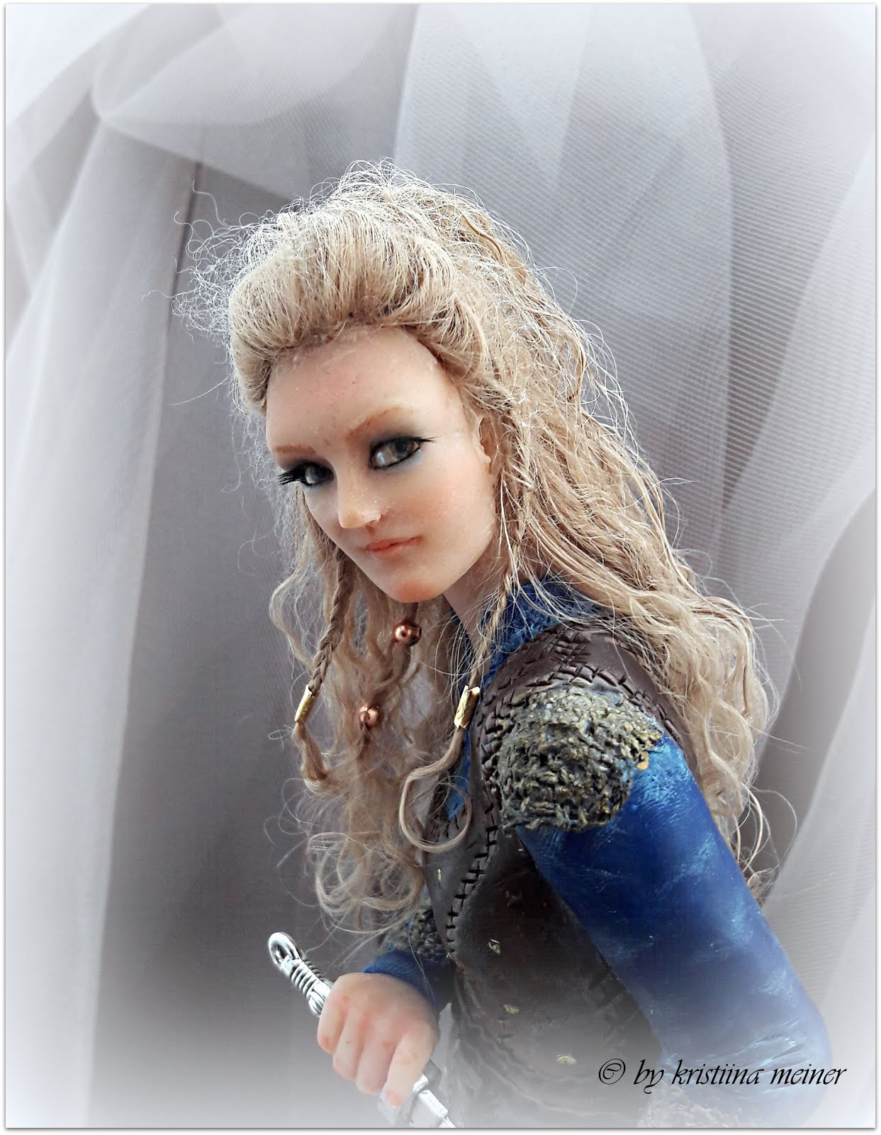 190 Art Doll Lagertha