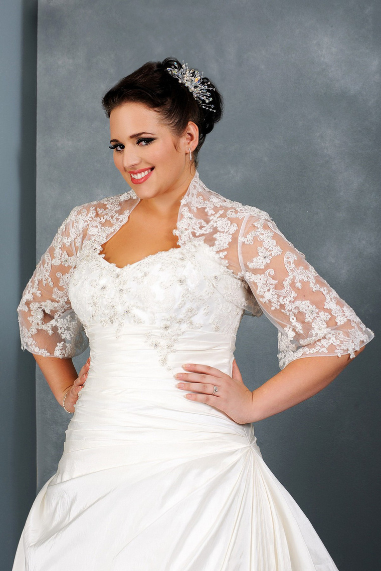 Wedding Dresses With Sleeves For Plus Size | Wedding Ideas