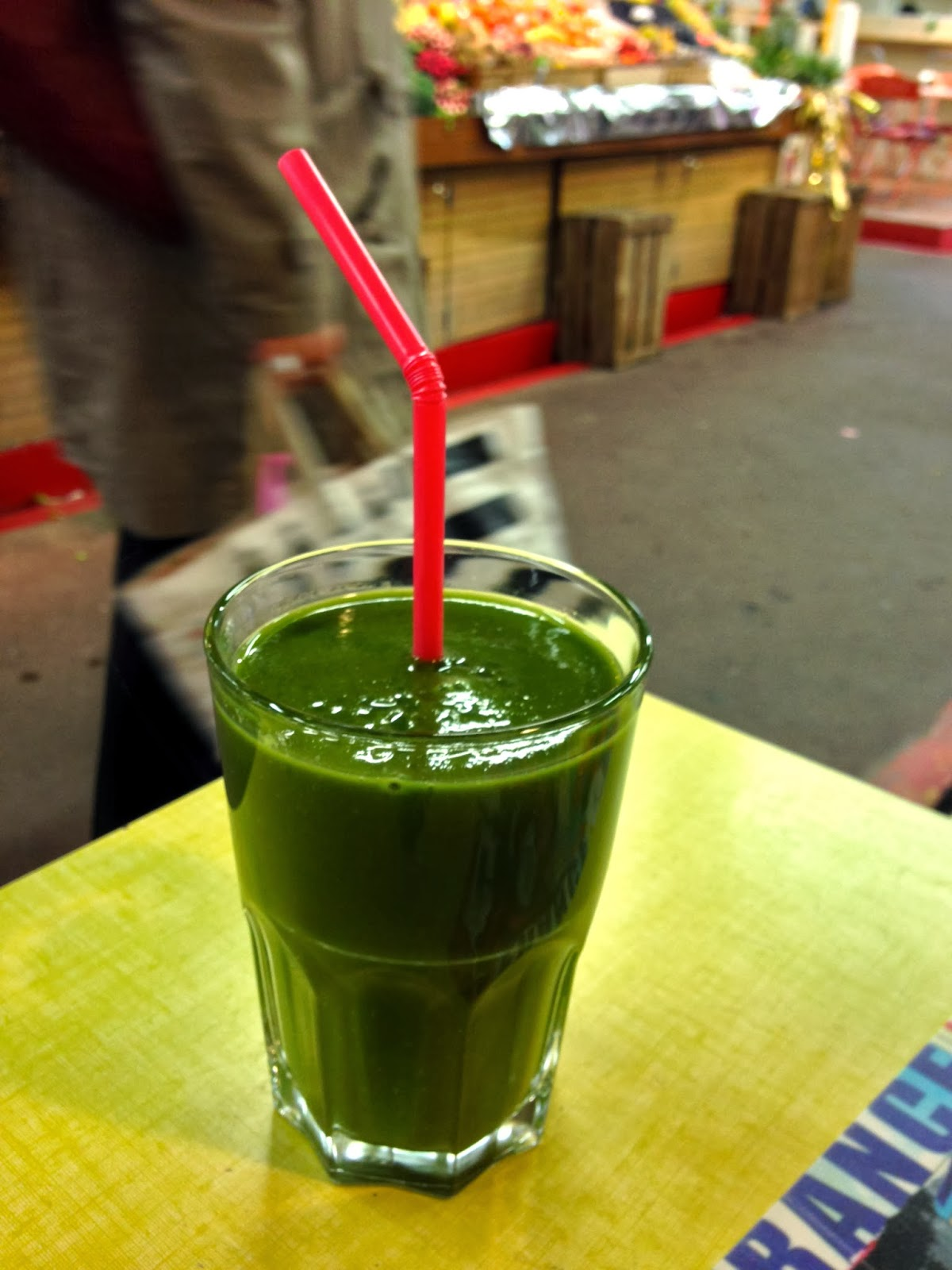green juice, my Kitch'n Paris