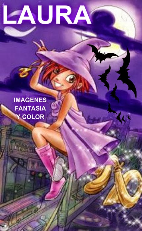 Imagenes de brujitas con nombre - Imagui