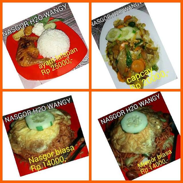 Nasi Goreng H20 Wangy Delivery Order Bukit Indah
