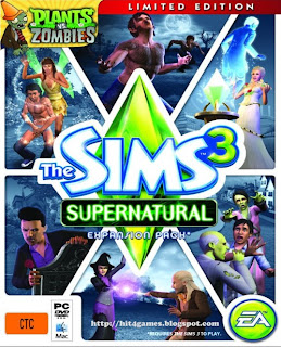 The Sims 3 Supernatural PC Games