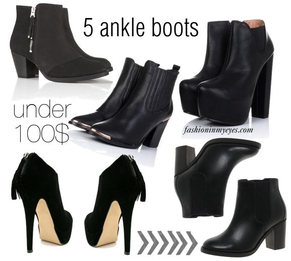 cute cheap ankle boots 2013.png