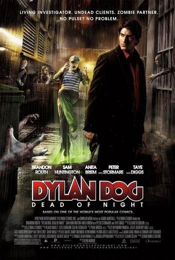 Free Get BluRay Rip 720p Dual Audio (Hindi - English) Dylan Dog: Dead of Night (2010)