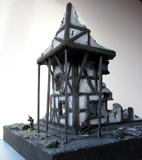 Stół bitewny do gry Mordheim