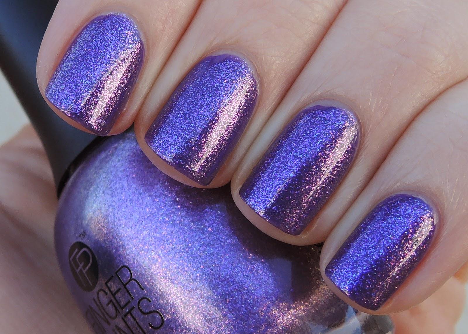 Finger Paints Paint the Town Purple
