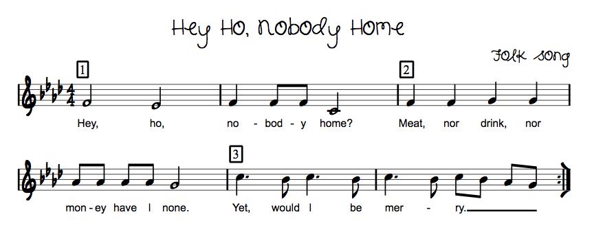 how to play ho hey