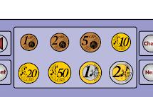 Juega con monedas.