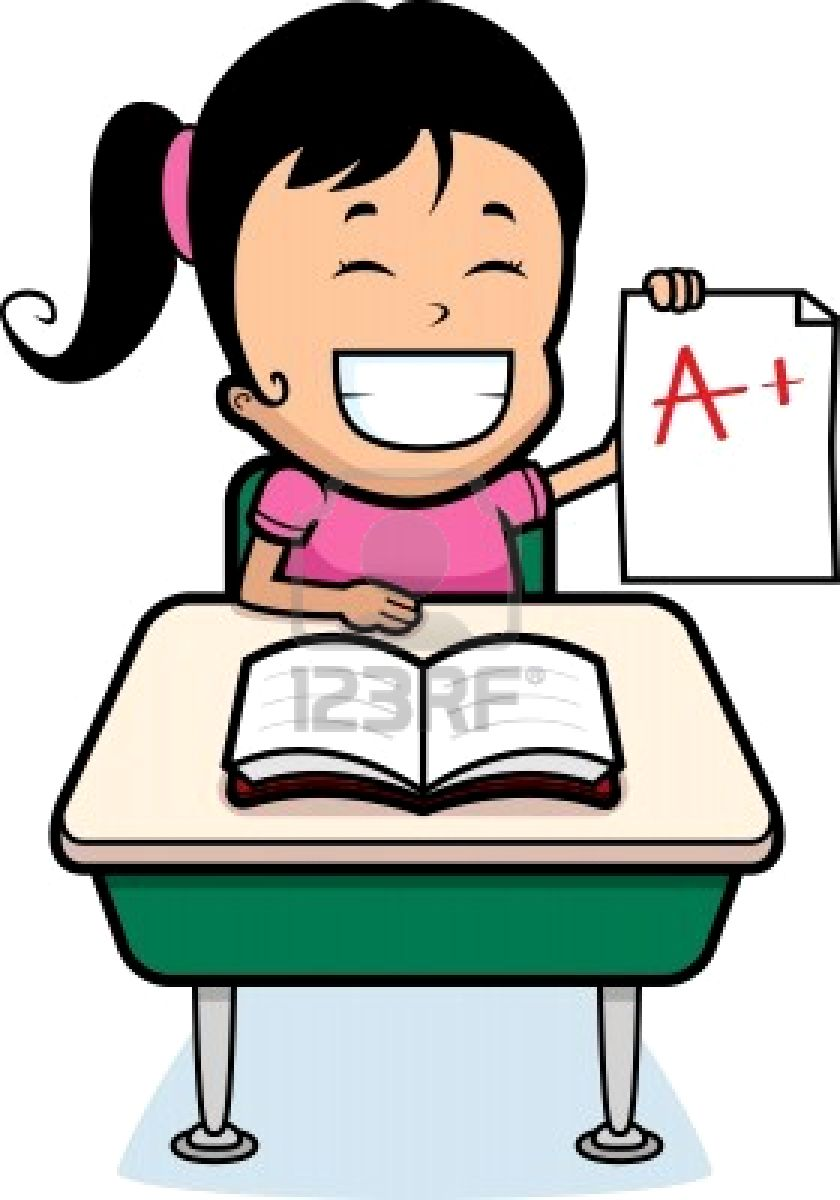 Good Student Cartoon 840 x 1200