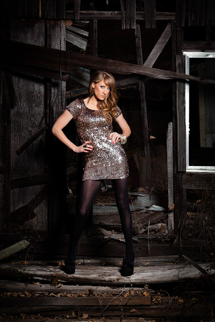Jody+Steliga+Savvy+Spice+in+sequin+New+Years+Eve+dress+black+tights