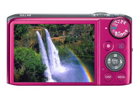 3-inch PureColor II G LCD - SX260HS