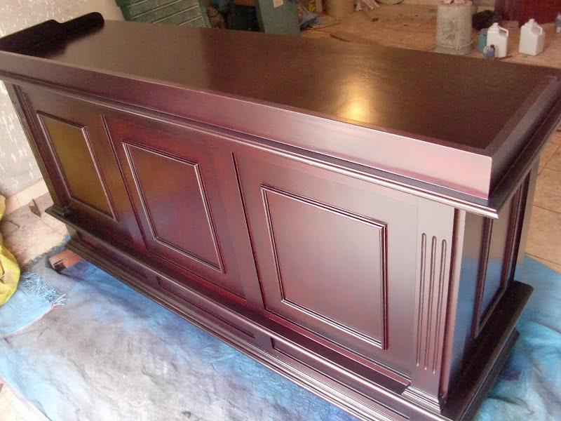 Decoraciones manualidades en madera como cambiar el tono - Cambiar color muebles ...