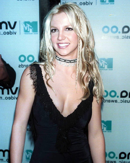 Britney Spears Hair Color 2011