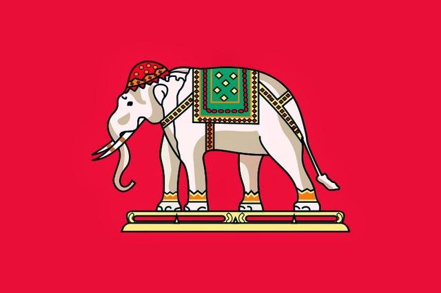 ธงราชการ ร.ศ. 129