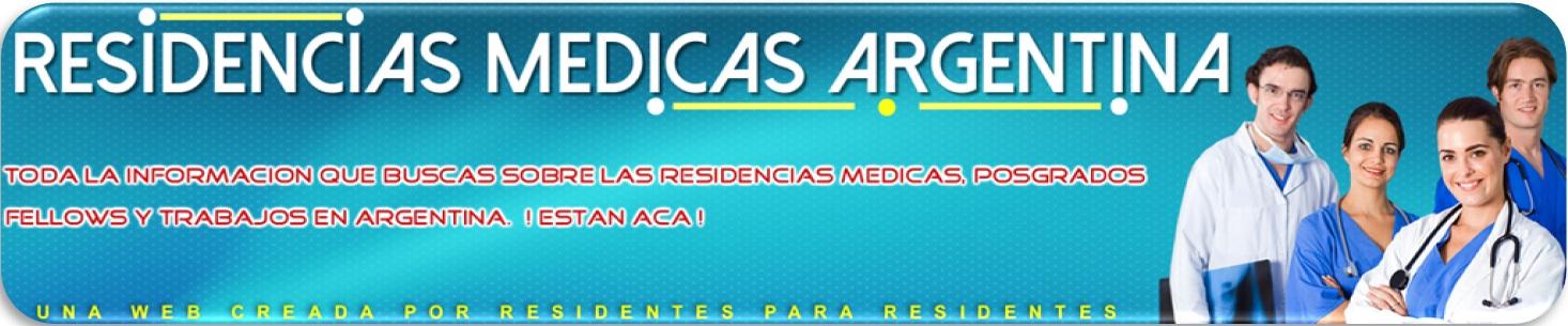 RESIDENCIAS MEDICAS ARGENTINA