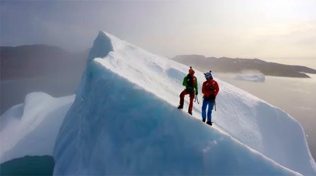 En una arista del iceberg
