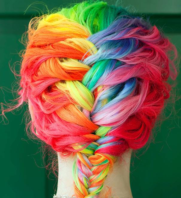 25 Colored Hairstyles | Hair