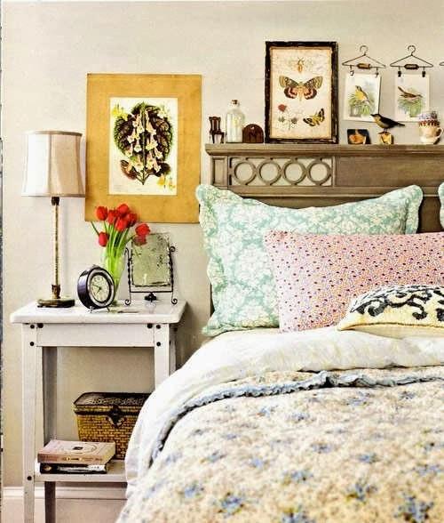 Dormitorios shabby chic romanticismo femenino oasisingular - Dormitorio shabby chic ...