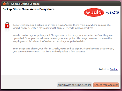 wuala for ubuntu client dropbox alternative