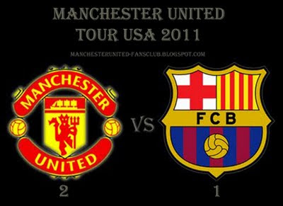 Manchester United vs Barcelona Tour USA 2011