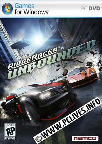 Ridge Racer Unbounded 2012 cover download pc game