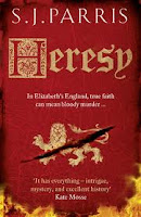 Book cover of Heresy by S.J. Parris