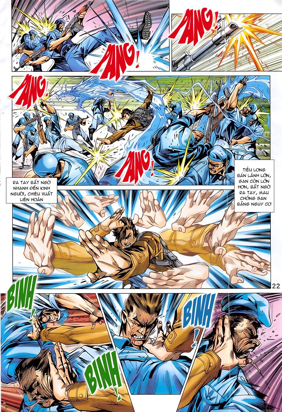 Tân Tác Long Hổ Môn chap 794 Trang 22 - Mangak.info