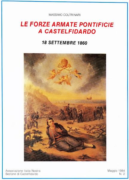 Le Forze Armate Pontificie alla Battaglia di castelfidardo