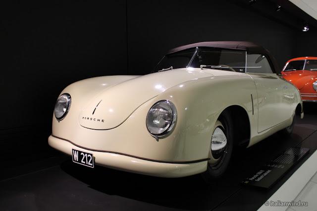 Porsche 356/2 Gmünd Cabriolet, 1949 г.