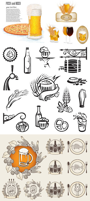 Food and Drink Labels and Icons