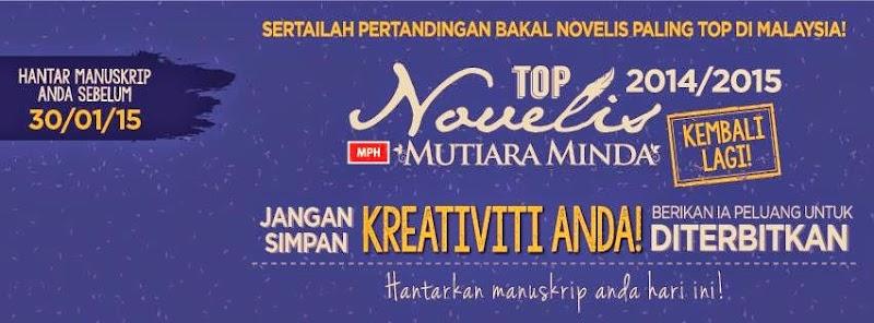 Pertandingan Menulis: TOP Novelis Malaysia